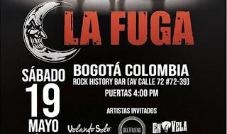 LA FUGA en Bogotá