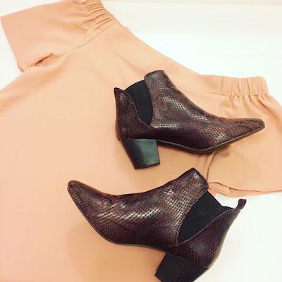 pink top primark boots