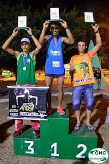 Atleta de Baraúna Conquista 3º lugar em Corrida realizada em Remigio