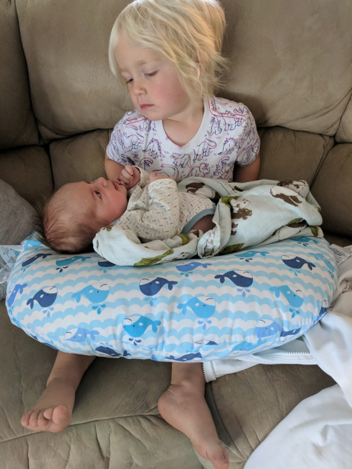 Can A Newborn Sleep On Nursing Pillow