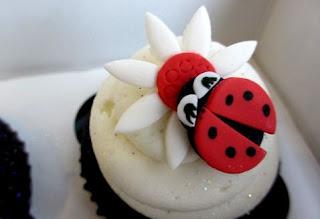 Cupcakes de Ladybug