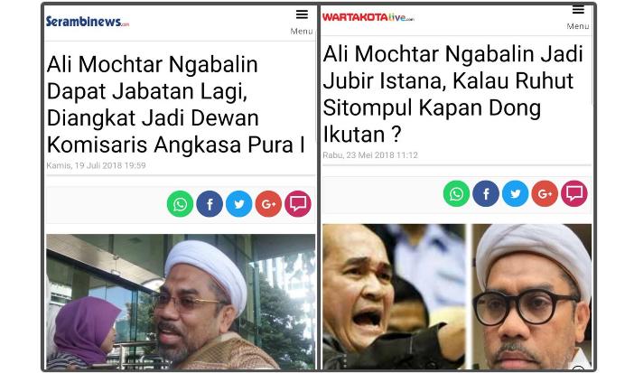 Ali Mochtar Ngabalin Dapat Jabatan Lagi, Diangkat Jadi Dewan Komisaris Angkasa Pura I, Kalau @ruhutsitompul Kapan Dong Ikutan?