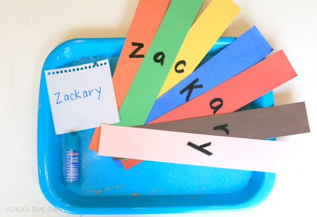 name activity for kids