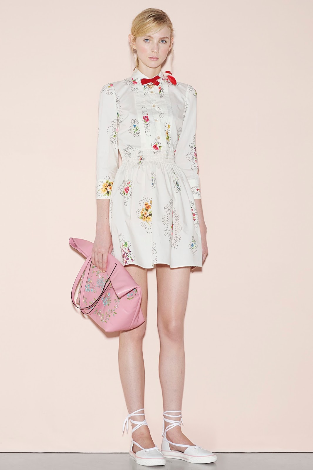 Free Fashion Clipart: Red Valentino Spring 2016