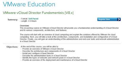 vmware vcloud director free online course