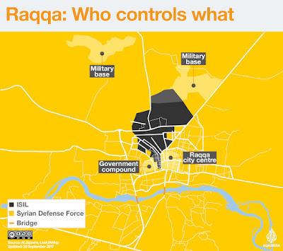 Battle Against The Islamic State In Raqqa Is Now In Its 'Final Stages'
