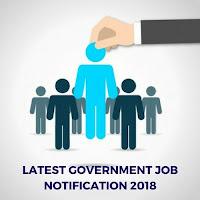 Government Job Notification 2018