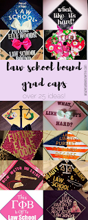 Over 25 ideas college grad cap ideas for pre law students that are law school bound | brazenandbrunette.com