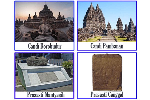 Peninggalan dan Sumber Sejarah Raja Kerajaan Mataram Kuno