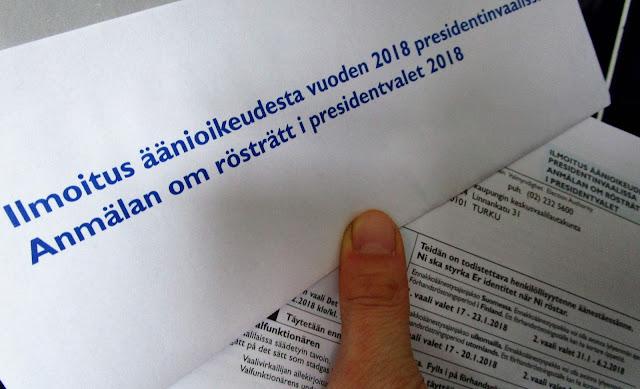 presidentinvaalit 2018, vaalilipuke