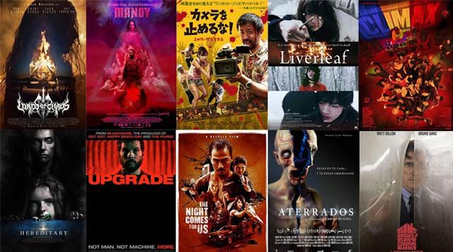 Top 10 de películas de terror del 2018