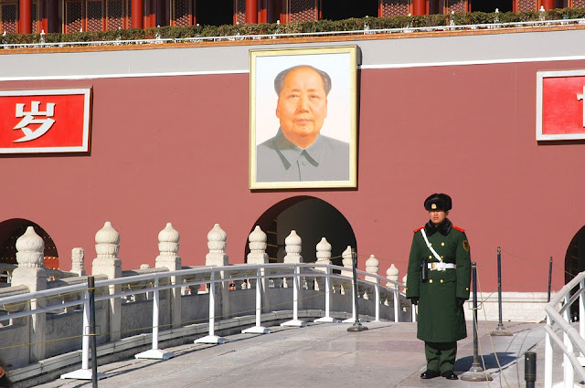Image Attribute: The portrait of Chairman Mao Zedong outside Forbidden City in Beijing, China  / Source: Pixabay.com