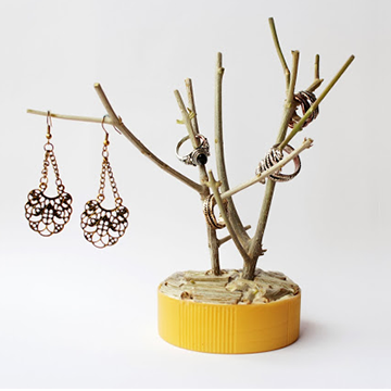 Easy to make Nature Inspired Jewelry Holder