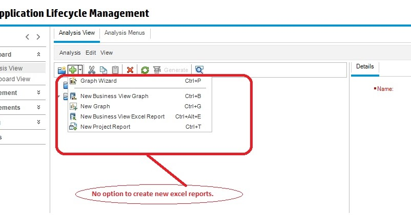 Learned and Shared: Enable 'Create a new Excel report