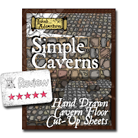 Frugal GM Review: Simple Caverns from Inked Adventures