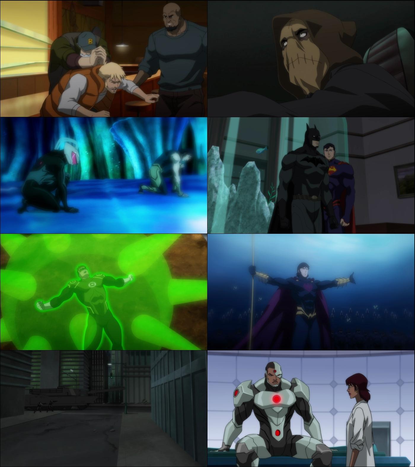 Liga de la justicia El trono de Atlantis 1080p Latino