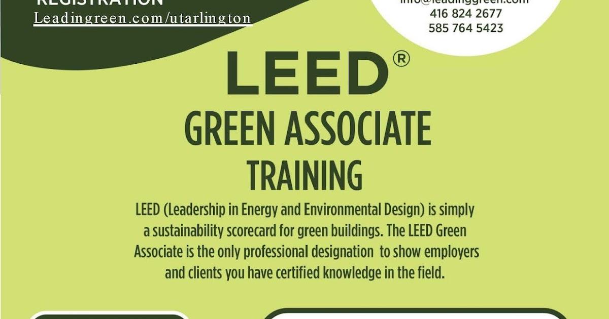 Interior Design Blog Leed Green Associate Training