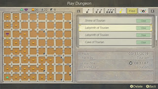 Key Labyrinth arrangement with lots of locked rooms in the east half and lots of chests in the west
