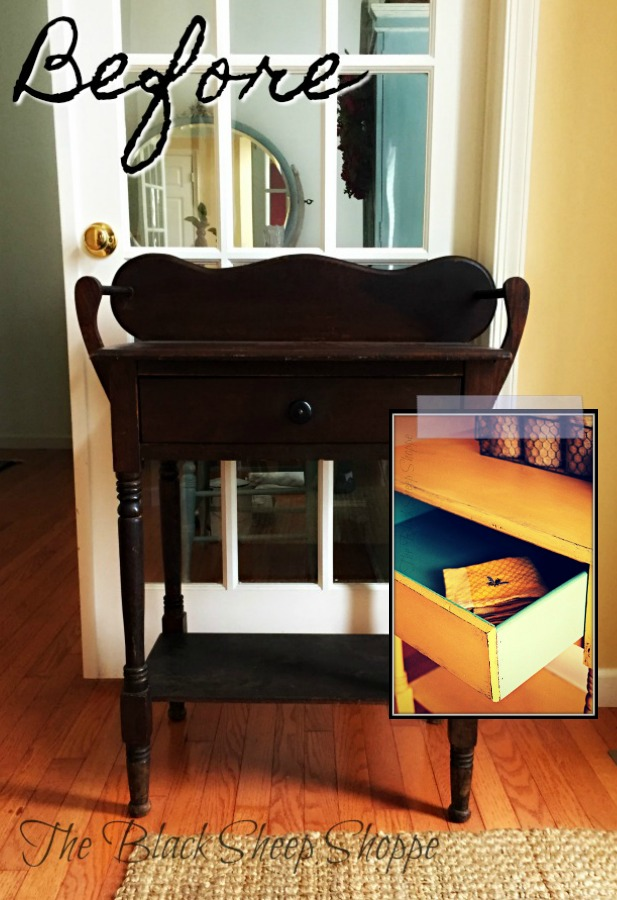 Vintage washstands can be re-purposed for modern-day uses.