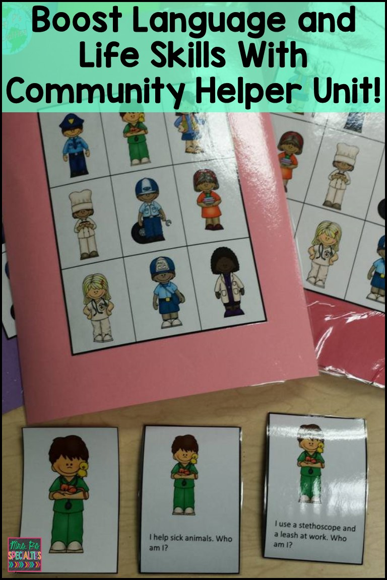 community helpers mrs p u0027s specialties