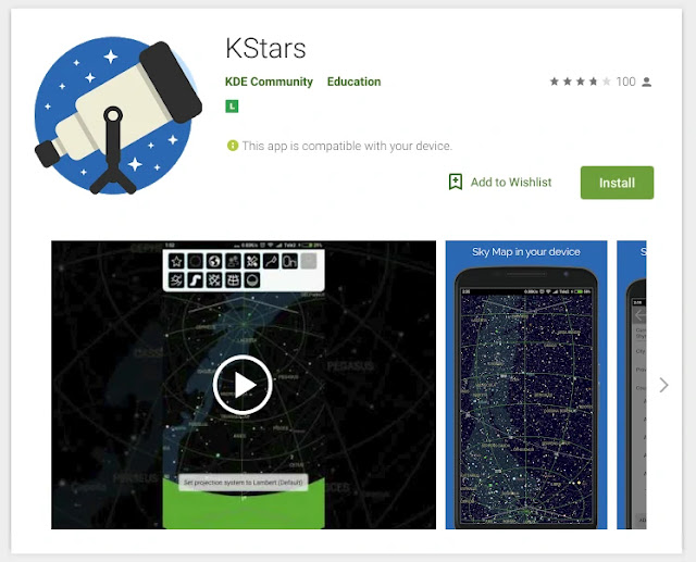 kstars-programa-app-android-astronomia-amador-profissional