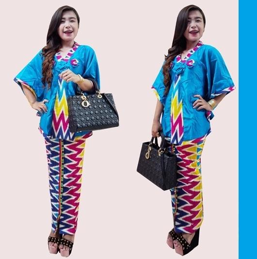 Model Baju Batik Setelan Modern Terbaru d1ce89acd9