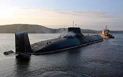 Typhoon Class Nuclear Submarine