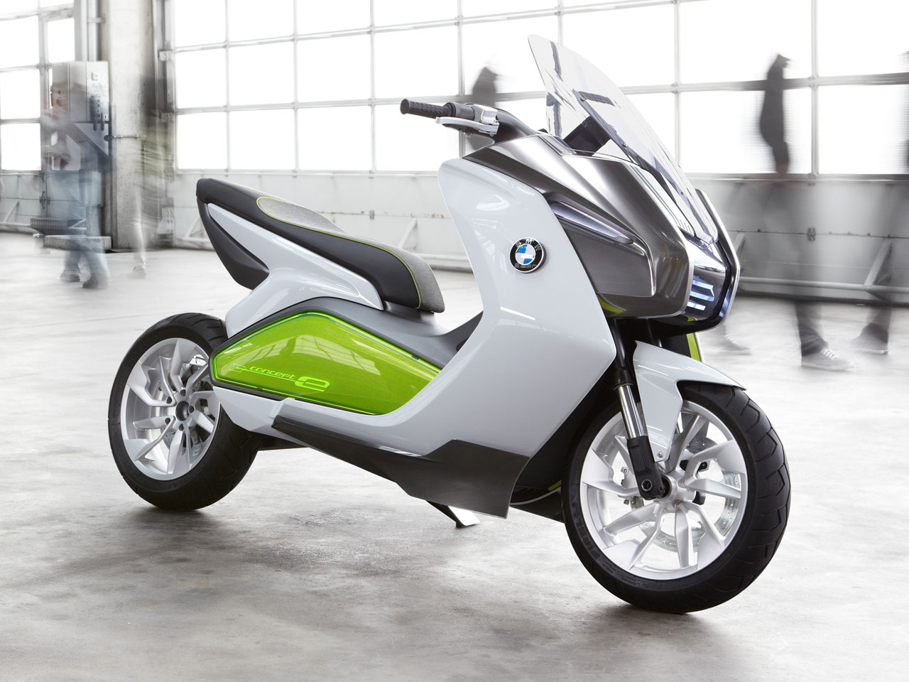 bmw motorrad concept e electric scooter cg daily news. Black Bedroom Furniture Sets. Home Design Ideas