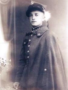 Franciszek Kosibor in his uniform of Podhale Rifles-1939 Defensive War Poland WW2