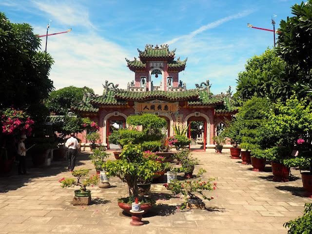 Phuoc Kien pagoda in Hoi An, Vietnam