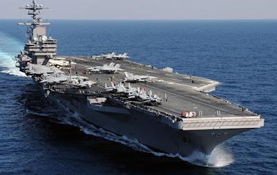 Flota Naval  rusa encuentra la posición del portaviones USS Carl Vinson