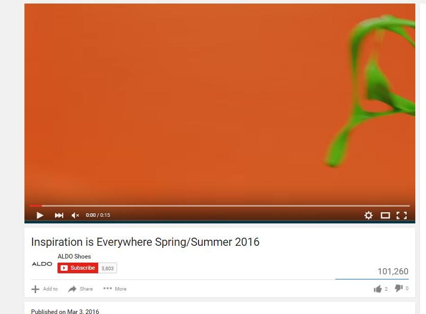 ce35330833 Inspiration is everywhere Spring/summer 2016 https://www.youtube .com/watch?v=iHHU8rByDFA