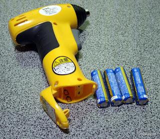 乾電池式ミニドライバー