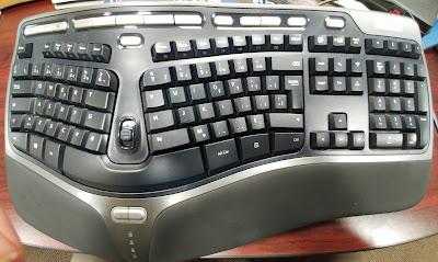 Ergonomic French Keyboard