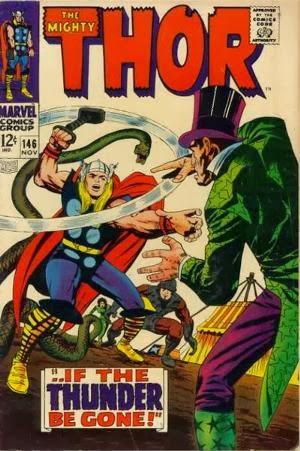 Thor #146 comic pic