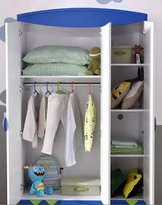 Tủ quần áo thông minh hiện đại dành cho bé trai 1