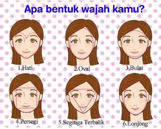 6 Arti Bentuk Wajah Wanita Dan Bentuknya
