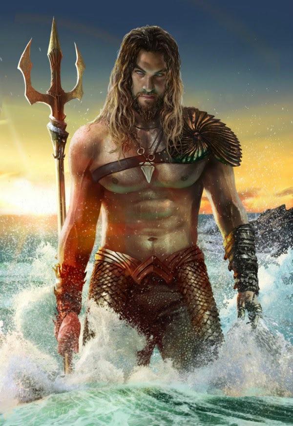 Jason Momoa Aquaman fan art