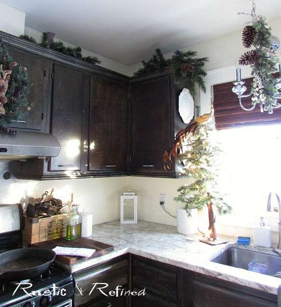 Kitchen decor idea for the holidays