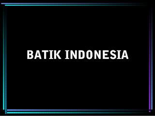 Macam Macam Motif Batik Yang Populer di Indonesia