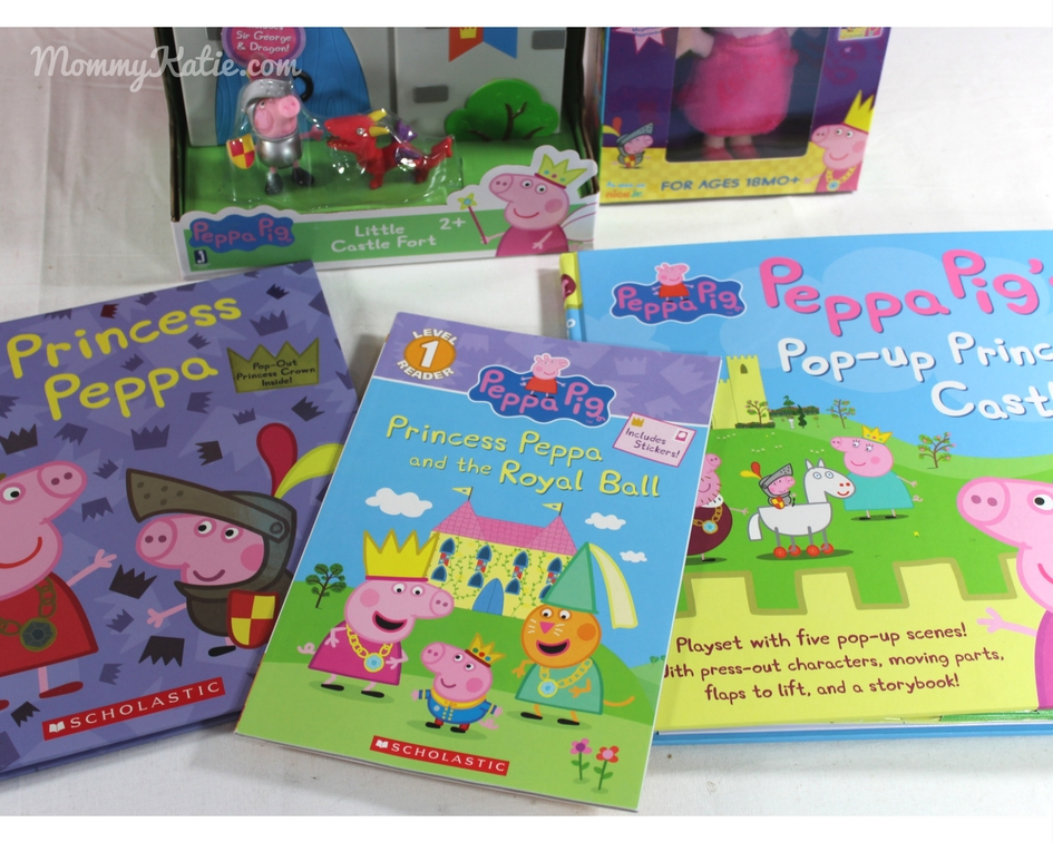 Holiday guide princess peppa pig must haves mommy katie of princess peppa books and toys that also includes a fun dvd to share we were excited to not only share but also add them to this years holiday guide fandeluxe Image collections