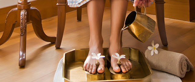 Hand and Leg  Ayurveda Spa