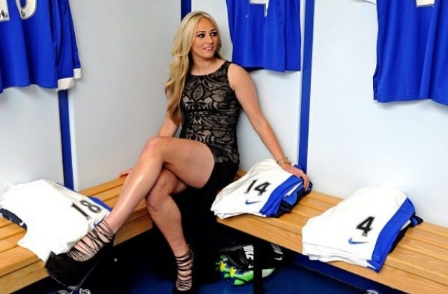Toni Guggan Sexiest female players of European League