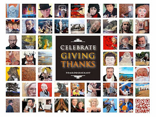 Celebrate the Season of Giving with art by  Boulder artist Tom Roderick