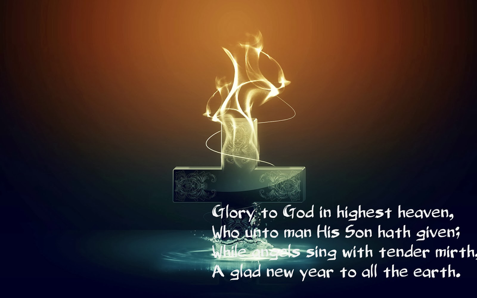 Happy New Year Blessing Words | www.topsimages.com