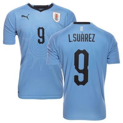 Jersey Uruguay New 2018