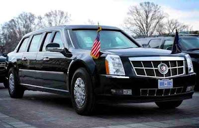 Apa Istimewanya Cadillac One Mobil Donald Trump Presiden AS ?
