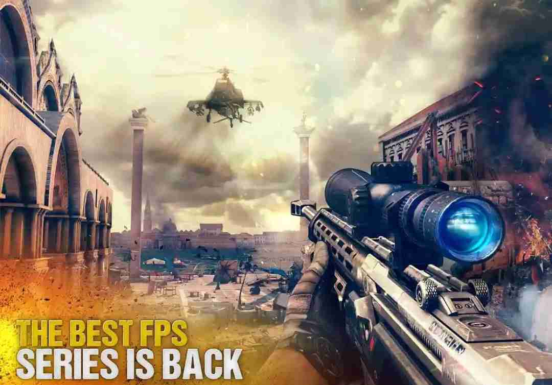 best android action game of 2018 - Modern Combat 5