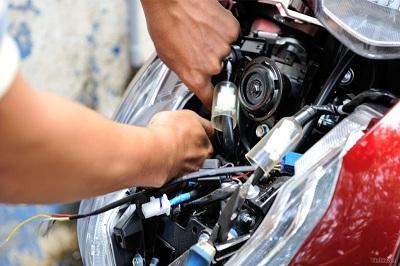 Lắp chống trộm xe máy