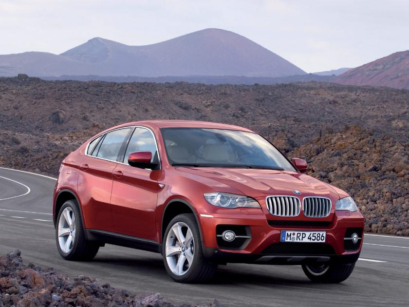 A World Of Cars Bmw X6 In Red Colour Pictures